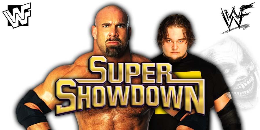 Goldberg vs Bray Wyatt Fiend WWE Super ShowDown