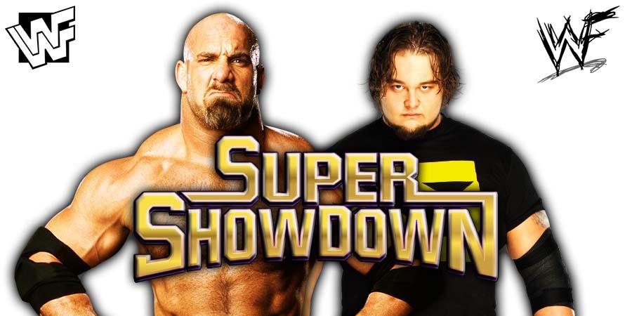 Goldberg vs Bray Wyatt - WWE Super ShowDown 2020
