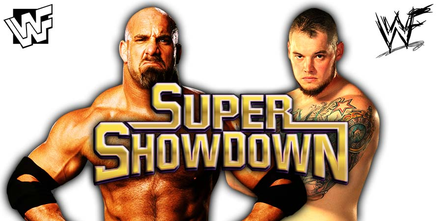 Goldberg vs King Baron Corbin - WWE Super ShowDown 2020