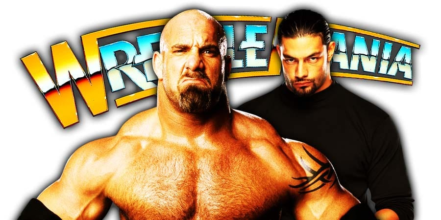 Goldberg vs Roman Reigns - WrestleMania 36