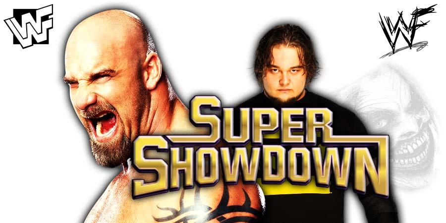 Goldberg vs The Fiend Bray Wyatt For The Universal Title At WWE Super ShowDown 2020