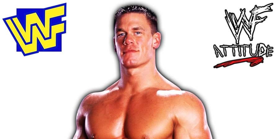 John Cena WWF WWE 2002