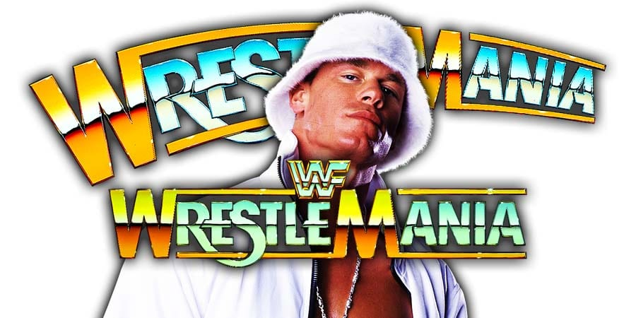 John Cena WrestleMania 36
