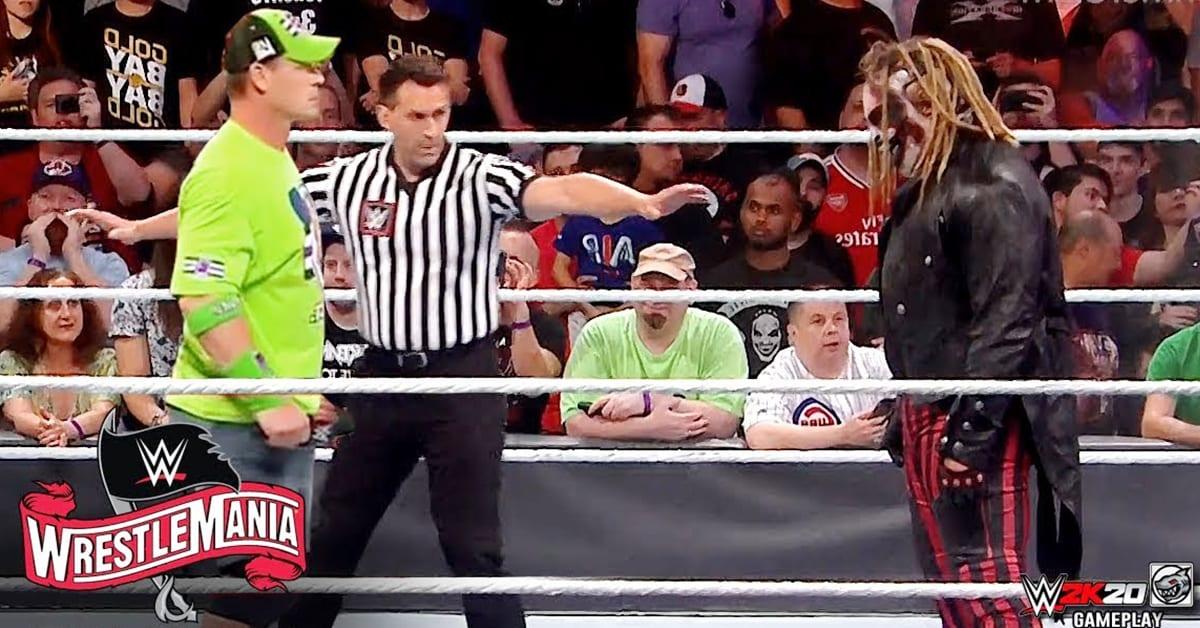 John Cena vs The Fiend - WrestleMania 36