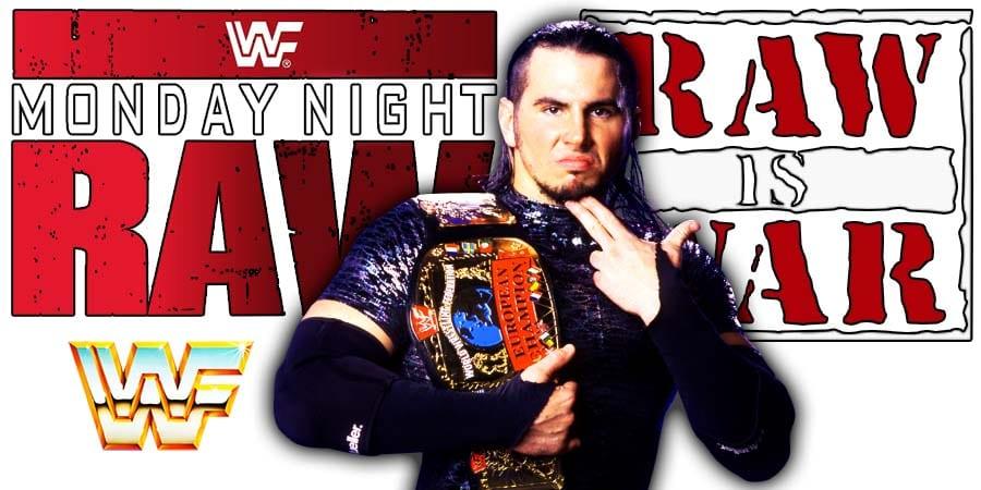 Matt Hardy WWF WWE RAW