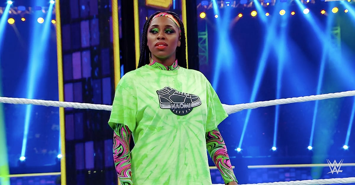 Naomi WWE Super ShowDown 2020 Saudi Arabia Outfit