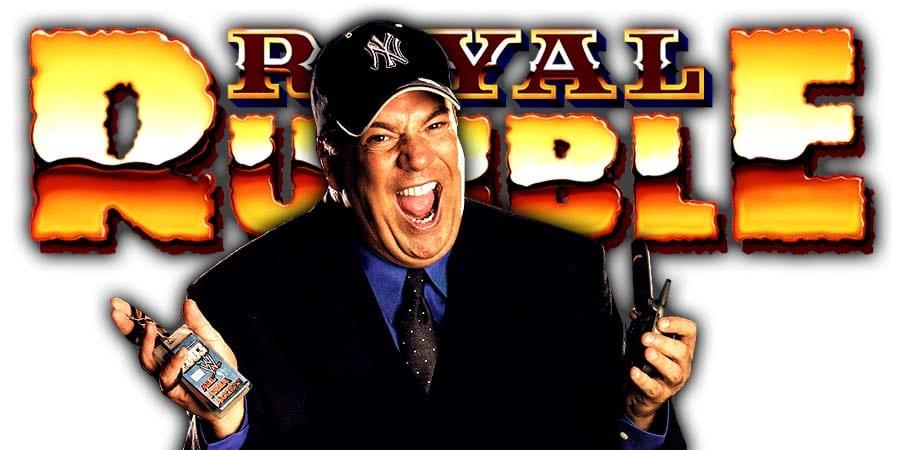Paul Heyman Royal Rumble 2020