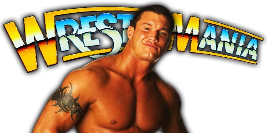 Randy Orton WrestleMania 36