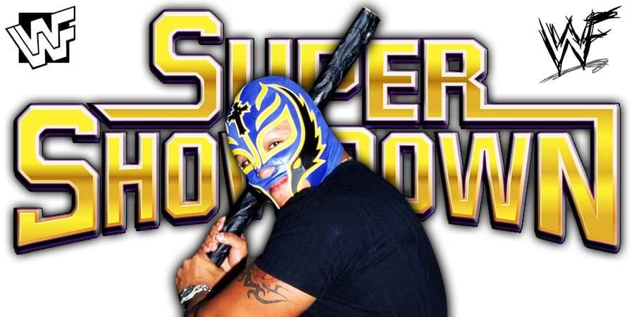 Rey Mysterio WWE Super ShowDown 2020