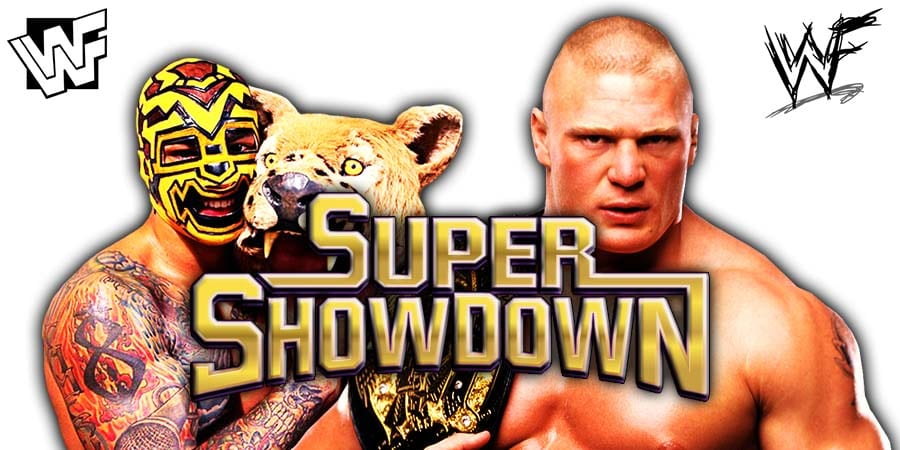 Ricochet vs Brock Lesnar - WWE Super ShowDown 2020