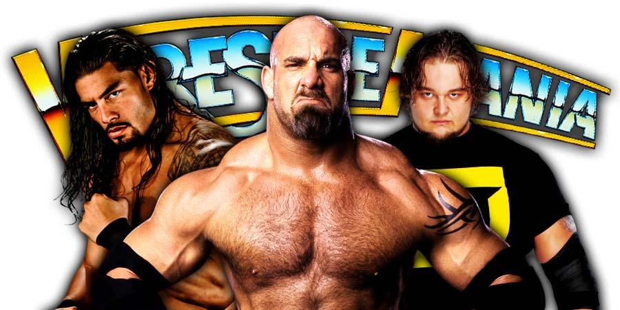 Roman Reigns Goldberg Bray Wyatt The Fiend WrestleMania 36