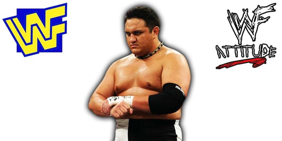 Samoa Joe TNA WWE WWF