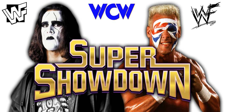 Sting WWE Super ShowDown 2020