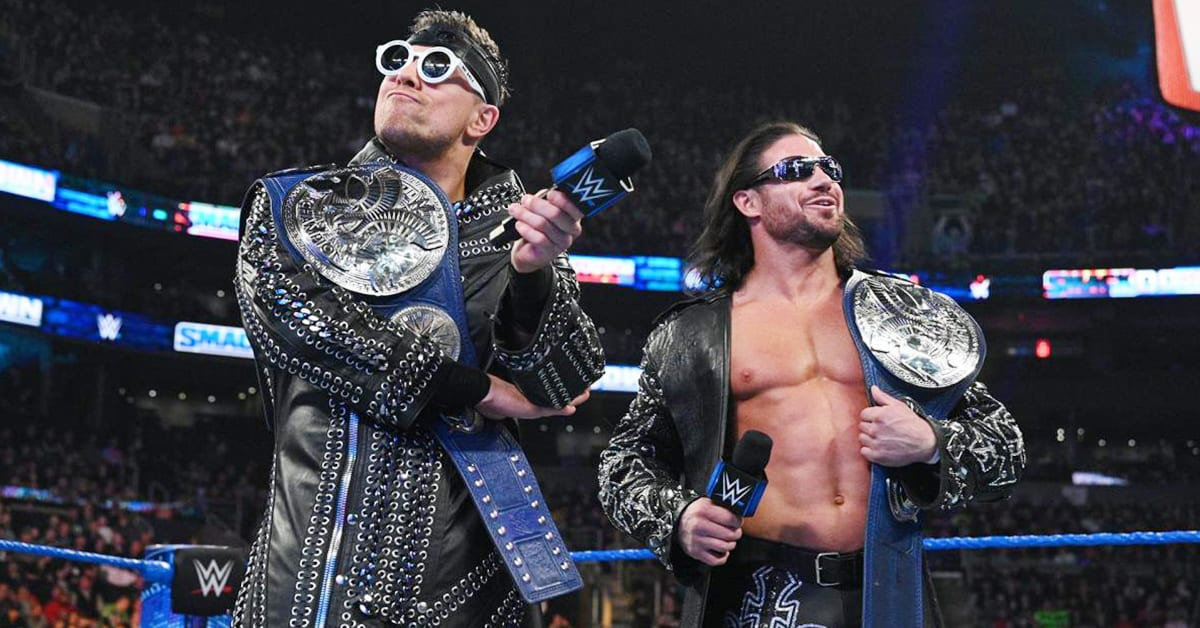 The Miz John Morrison SmackDown Tag Team Champions February 2020