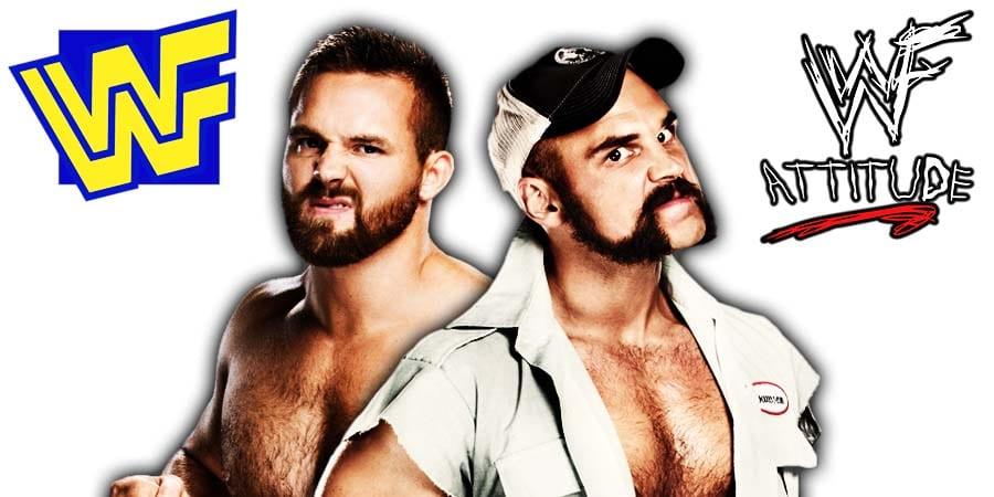 The Revival Scott Dawson Dash Wilder WWE