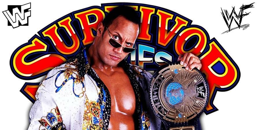 The Rock WWF WWE Survivor Series