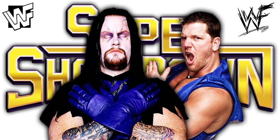 The Undertaker AJ Styles WWE Super ShowDown 2020 Saudi Arabia