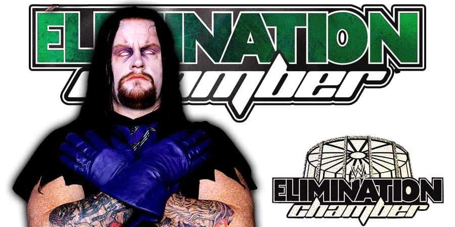 The Undertaker Burned During WWE Elimination Chamber 2010 Entrance