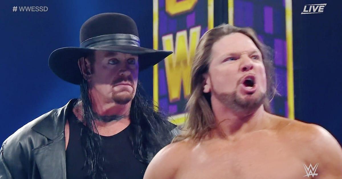 The Undertaker Defeats AJ Styles At WWE Super ShowDown 2020