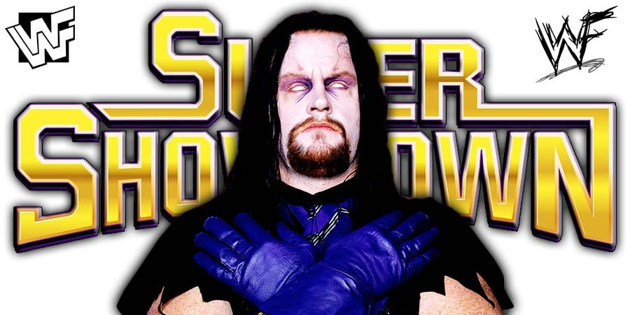 The Undertaker WWE Super ShowDown 2020