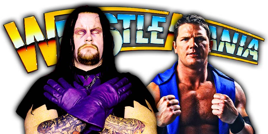 The Undertaker vs AJ Styles WrestleMania 36 Program Start Date