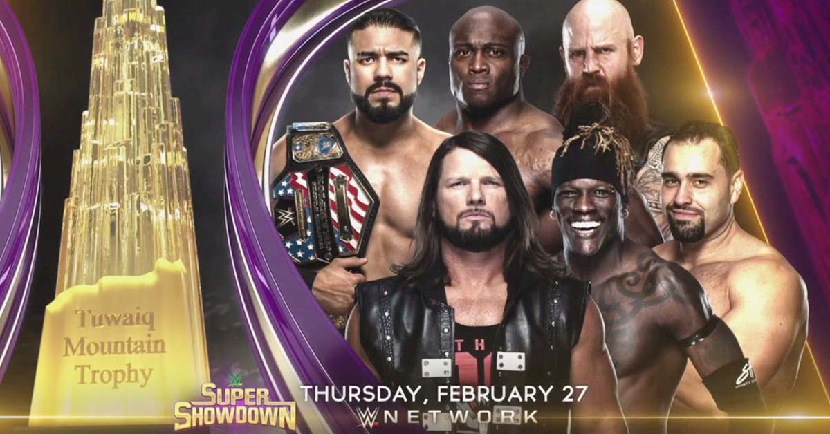 Current Plan For The Winner Of Tuwaiq Trophy At WWE Super Showdown 2020 1