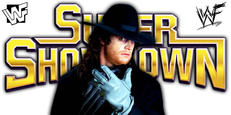 Undertaker to make a surprise appearance at WWE Super ShowDown 2020