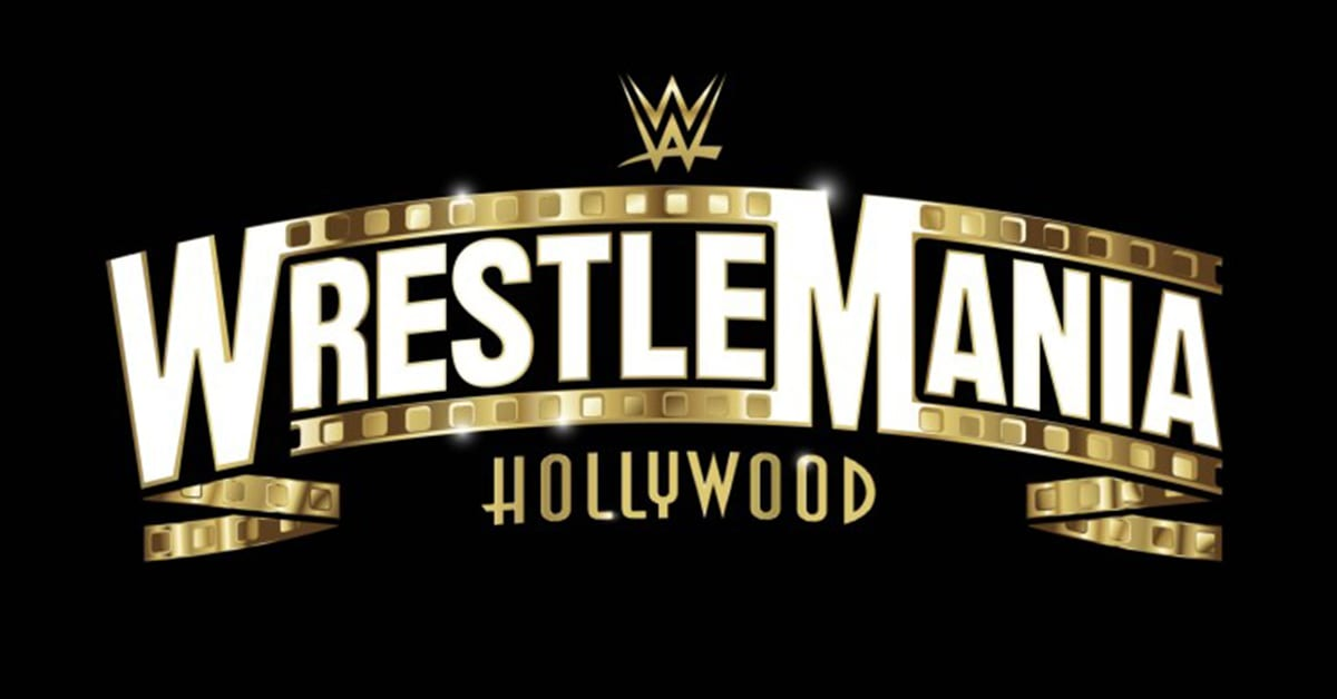 WWE WrestleMania 37 Official Logo WrestleMania Hollywood