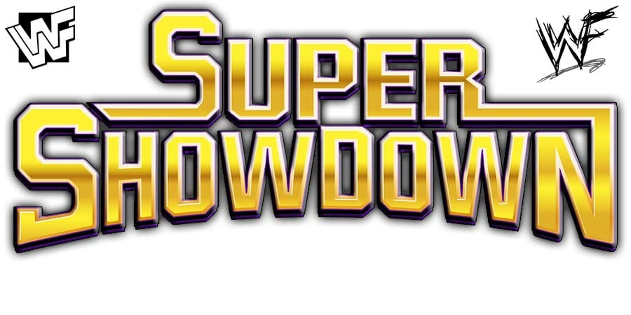 WWF WWE Super ShowDown PPV Logo