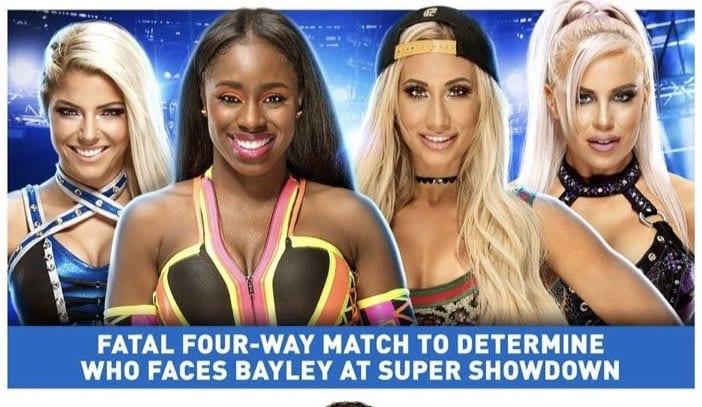 Women's Match WWE Super ShowDown 2020
