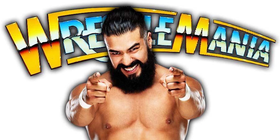 Andrade WrestleMania 36