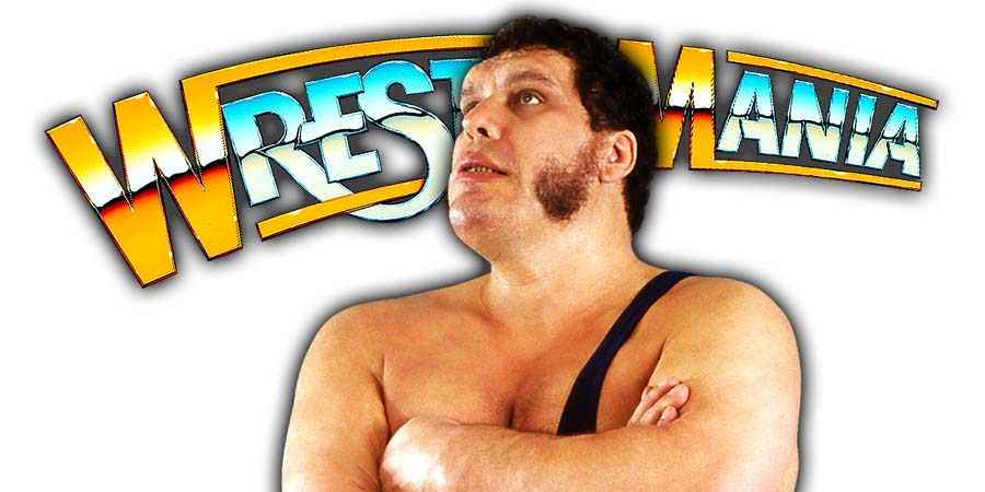 André The Giant WrestleMania
