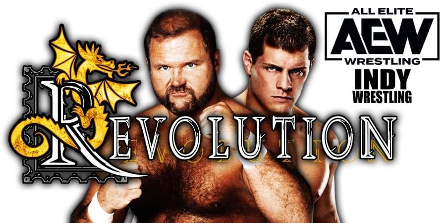 Arn Anderson Cody Rhodes AEW Revolution