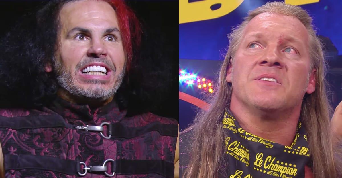 BROKEN Matt Hardy Chris Jericho AEW Dynamite