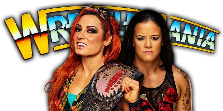 Becky Lynch vs Shayna Baszler - Main Event Of Night 1 Of WrestleMania 36