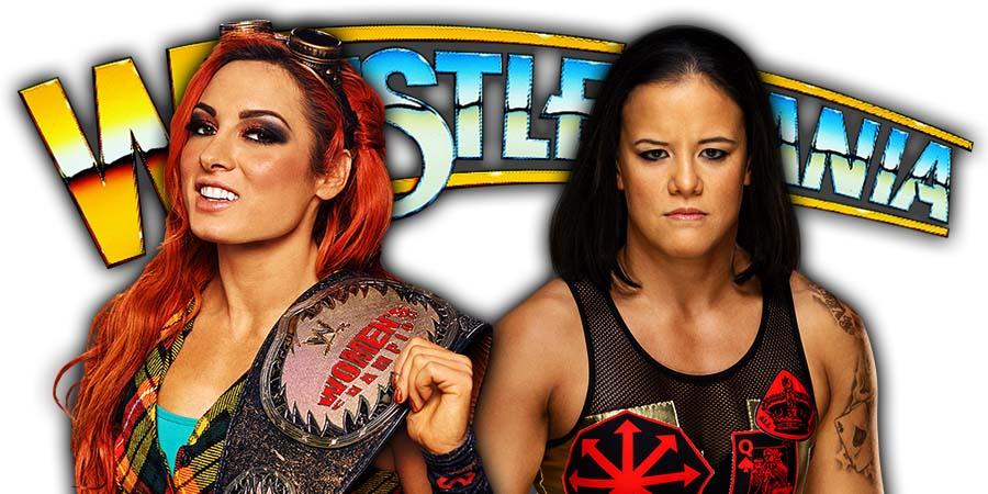 Becky Lynch vs Shayna Baszler - WrestleMania 36 WWE