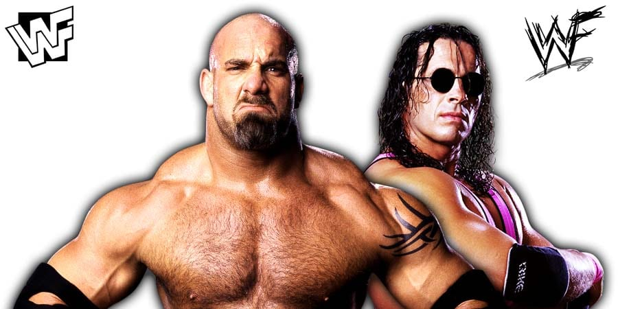 Bill Goldberg Bret Hart