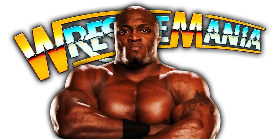Bobby Lashley WrestleMania 36