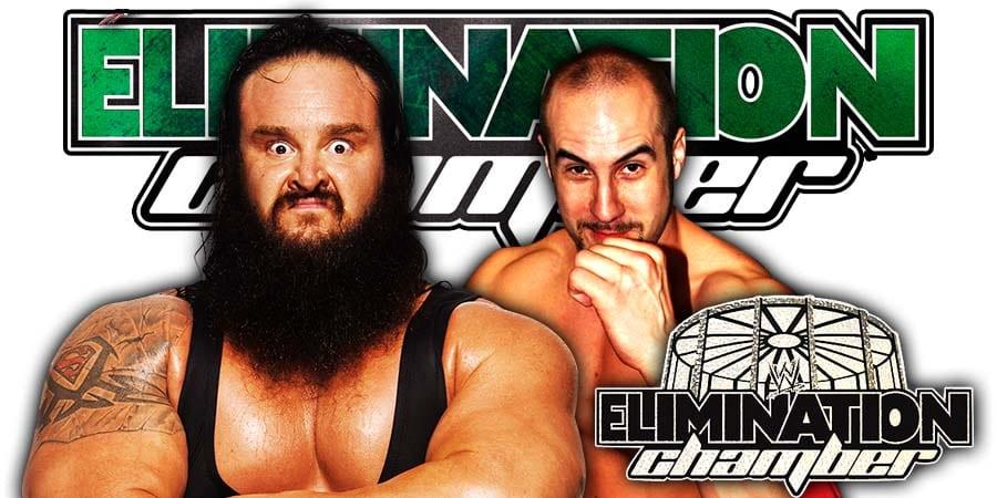 Braun Strowman Cesaro WWE Elimination Chamber 2020