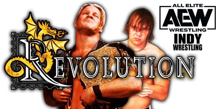 Chris Jericho defeated by Jon Moxley at AEW Revolution