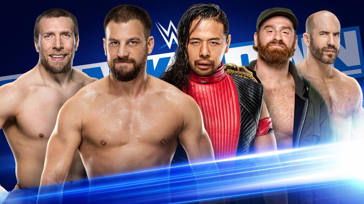 Daniel Bryan Drew Gulak Shinsuke Nakamura Sami Zayn Cesaro