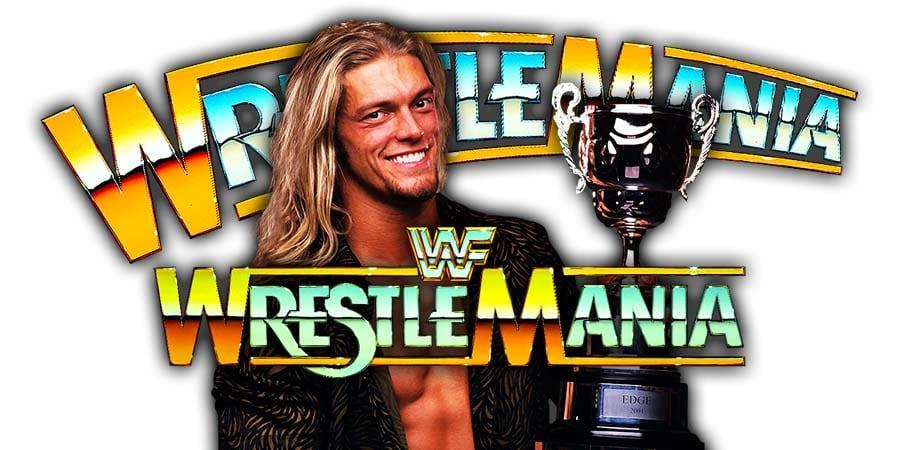 Edge Last Man Standing WrestleMania 36