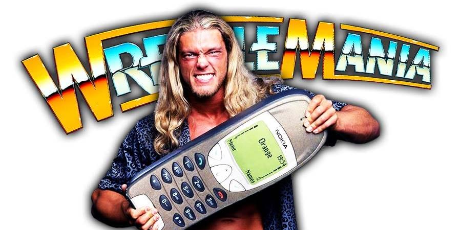Edge WrestleMania Return 2020