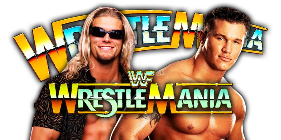 Edge vs Randy Orton - Last Man Standing Match (WrestleMania 36)