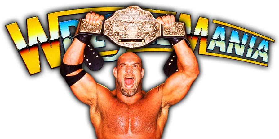 Goldberg Champion WrestleMania 36