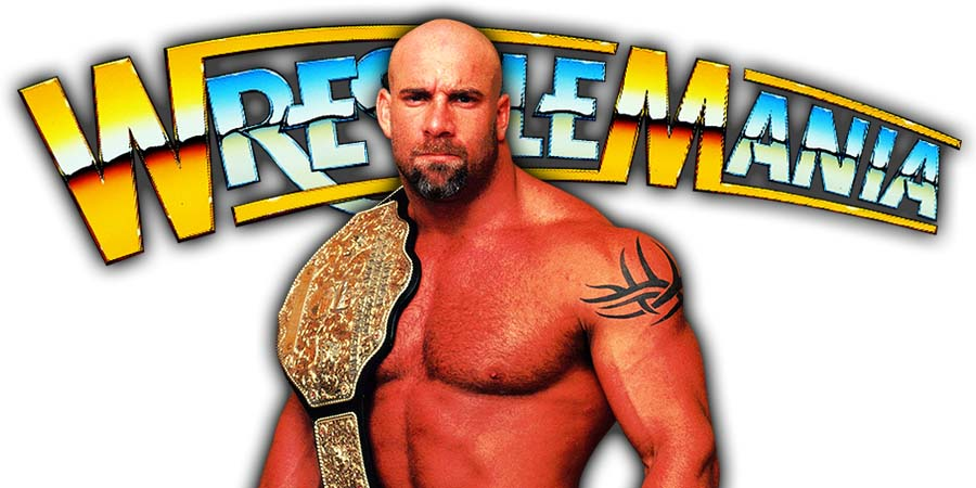 Goldberg World Heavyweight Champion WrestleMania 36