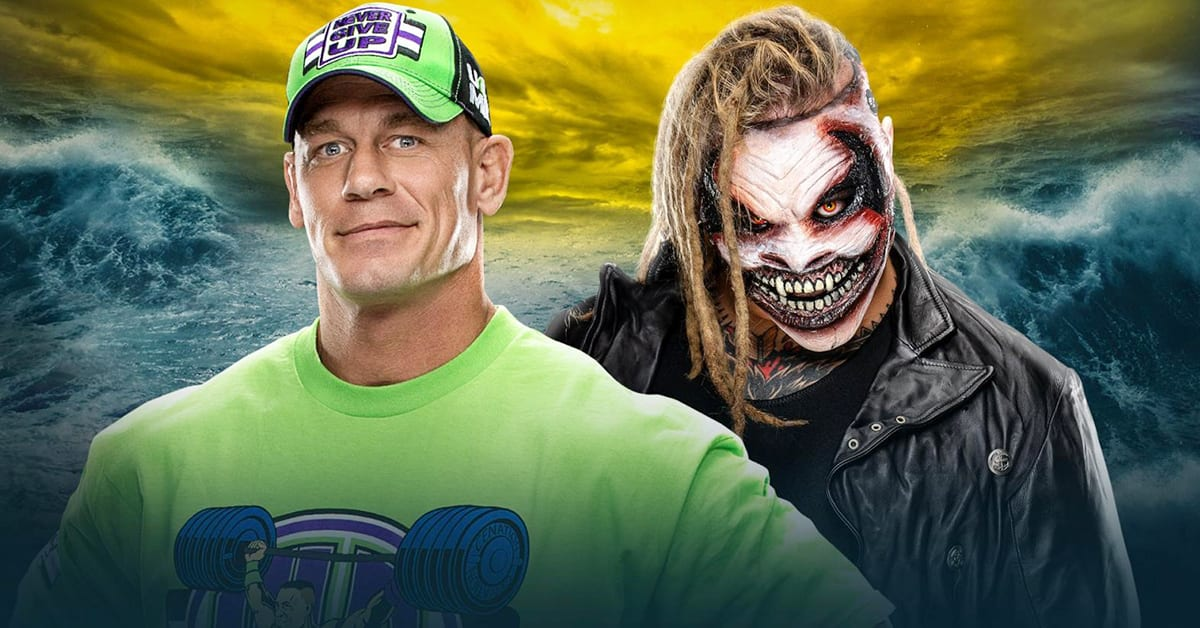 John Cena vs The Fiend Bray Wyatt - WrestleMania 36 WWE Website Background
