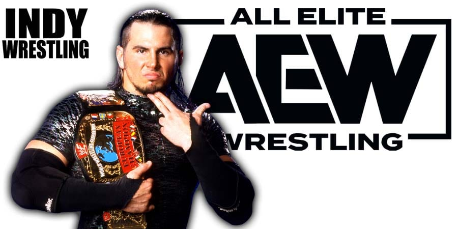 Matt Hardy AEW Superstar
