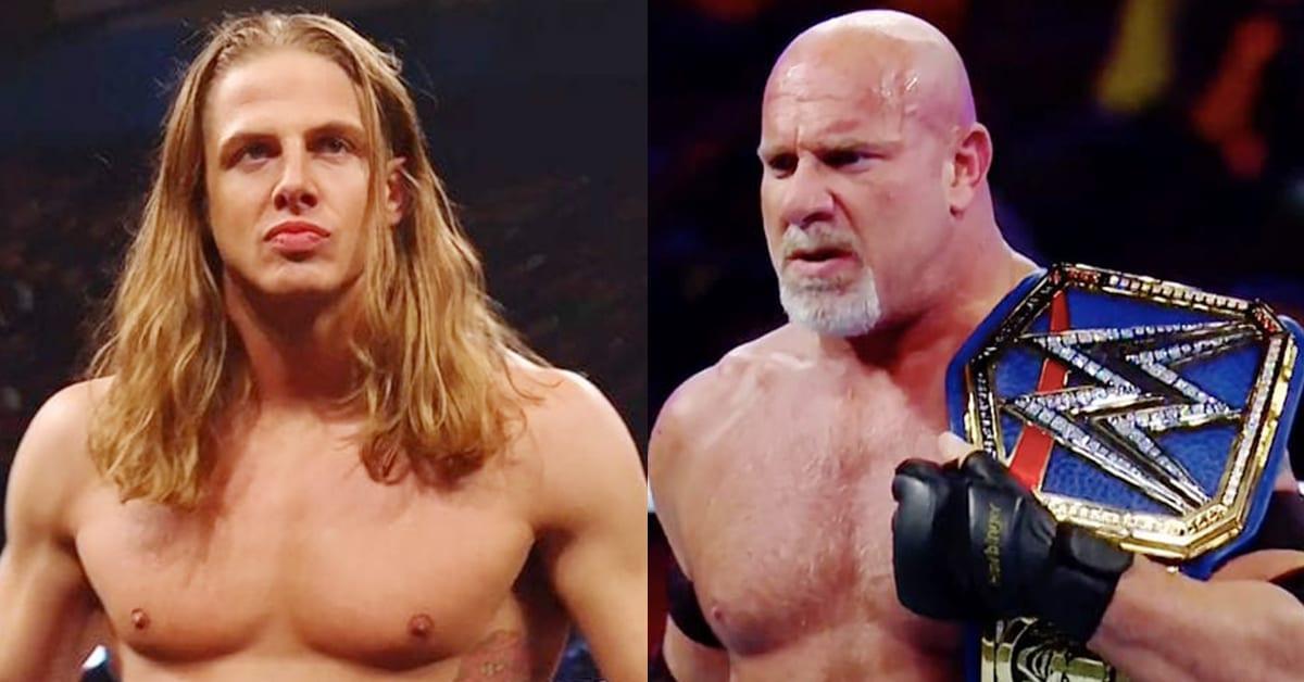 Matt Riddle Goldberg WWE Universal Champion 2020