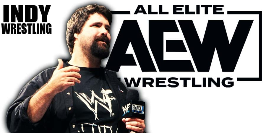 Mick Foley AEW All Elite Wrestling